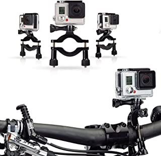New Navitech Cycle/Bike/Bicycle & Motorbike Roll Bar Mount Compatible with The Kaiser Baas X4 Action Camera