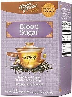 PRINCE OF PEACE Blood Sugar Herbal Tea 18 Bag, 0.02 Pound