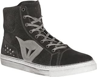 Dainese Biker Air Men's Street Motorcycle Shoes - Black/Anthracite / 45