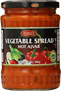 Zergut Ajvar, Hot, 19 Ounce