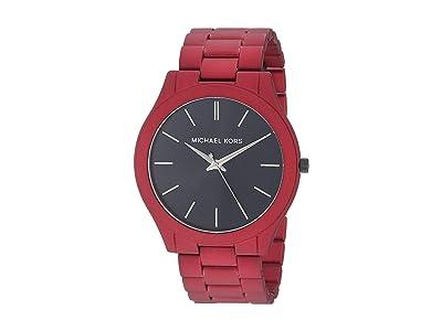 Michael Kors MK8712 Slim Runway (Red) Watches