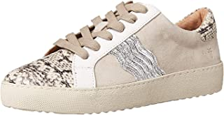 Frye Women's Webster Wave Low Lace Sneaker, Milkshake Multi, 6.5 M US