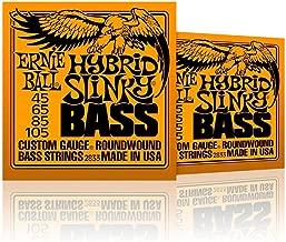 Ernie Ball 2833 Hybrid Slinky Round Wound Bass Strings 2 Pack