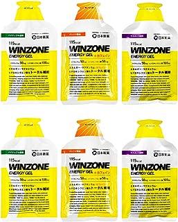 WINZONE エナジージェル おためし3味 6個セット(各2個)