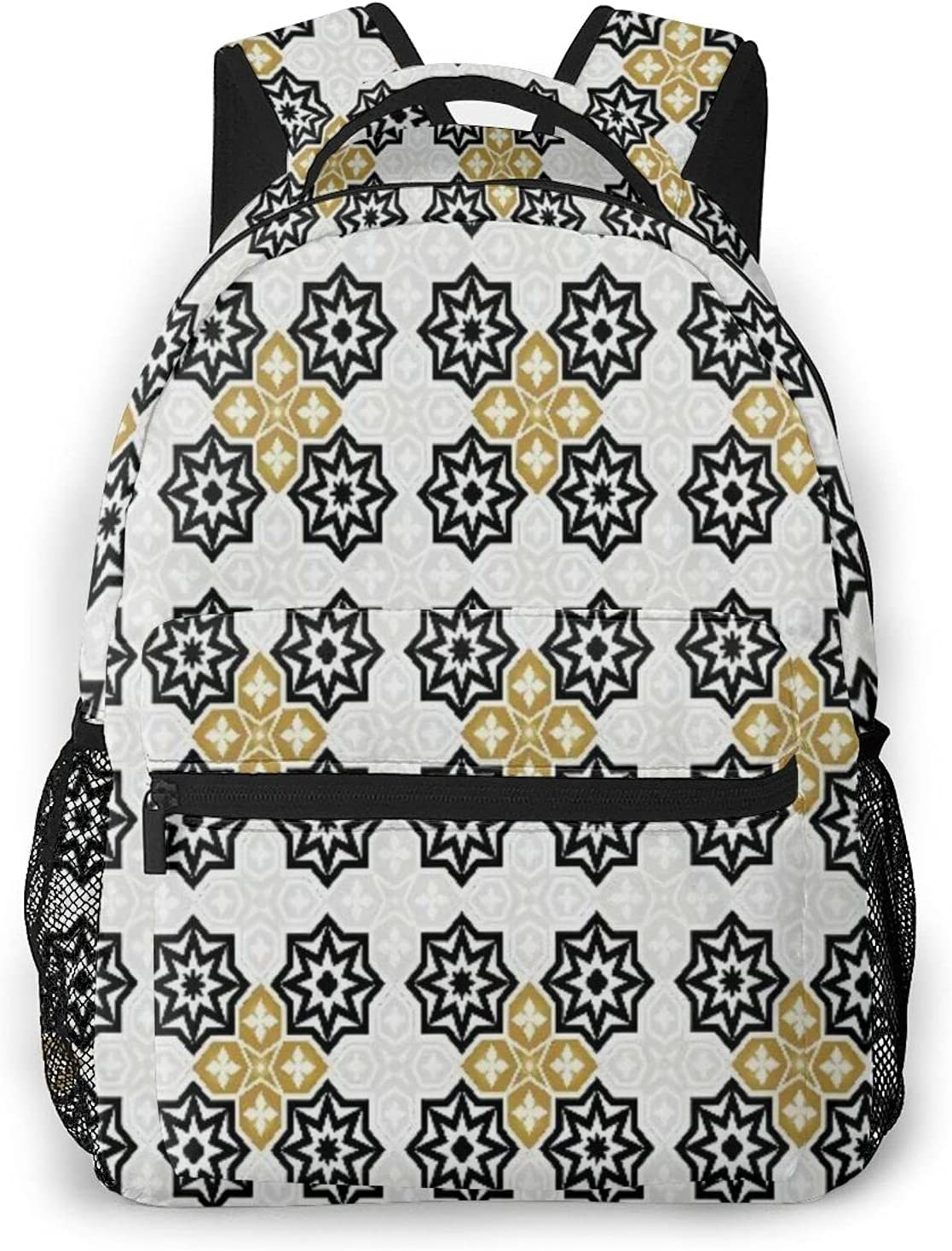 Backpack for Teens Chicago Mall Men Women Storage Miami Mall Packet Golden Co Ivory Dust