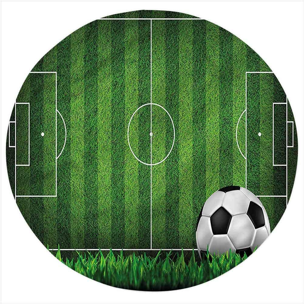 Boys Room Sale Flannel Excellent Throw Blanket Pitch The Game Bed of Soccer Thr