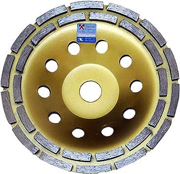 "7/'/' Diamond T Segment Concrete Grinder Blade Grinding Cup Wheel 7//8""-5//8"" Arbor"