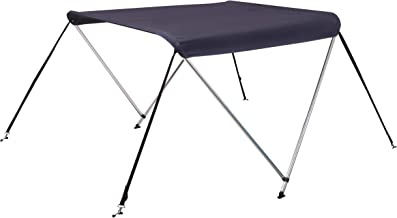 Oceansouth 2 Bow Bimini Top Boat Cover with Integrated Storage Boot
