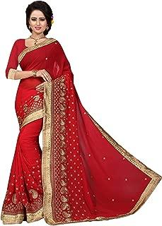 Sarees de style instantan/é pour femme Banarasi Art Soie l indien Rakhi Mariage Diwali Cadeau Sari avec Chemisier non cousu