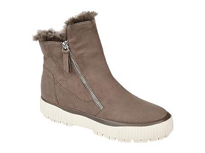Journee Collection Comfort Foam Jezzy Wedge Bootie (Taupe) Women