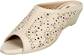 Footshez Casual and Party Wedge Heel Slip On for Women's and Girl's