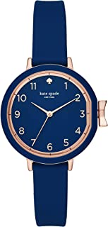 KATE SPADE Women's KSW1353 Year-Round Analog-Digital Quartz Blue Band Watch
