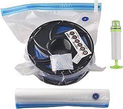 Kit de Bolsa de Armazenamento a Vácuo para Filamento de Impressora 3D FDM Compressão a Vácuo Sacos Protetores de Espaço Es...