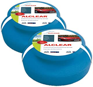 ALCLEAR Professioneller Polierschwamm für die Reinigung von Karosserien und Armaturenbrettern 2er Pack