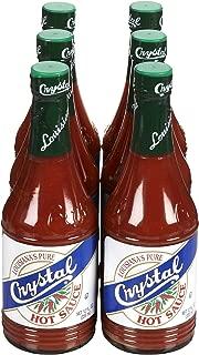 Crystal Hot Sauce, 12 oz, 6 pk