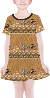 Rainbow Rules Lion King Friends Tribal Disney Inspired Girls T-Shirt Dress