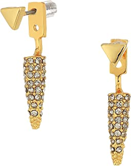 Pave Spike Earrings