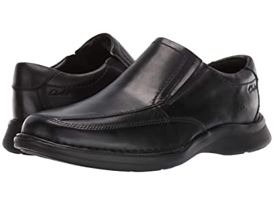 Clarks Kempton Free (Black Leather) Men