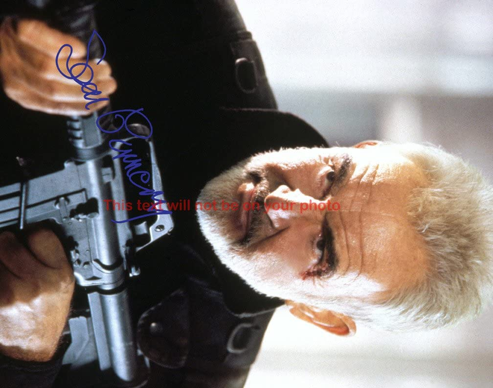 Sean Connery The Our shop most popular Rock Autographed 8x10 Glossy SALENEW very popular! Photo