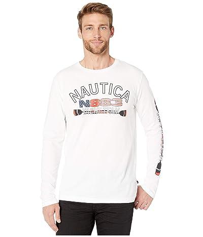 Nautica Yacht Team Oar T-Shirt (Bright White) Men