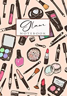 Glam Notebook: This Fun, Fashion, Blank Lined Notebook Can Be Used for A Variety of Tasks!