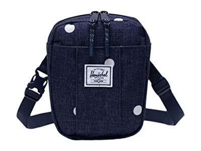 Herschel Supply Co. Cruz (Polka Dot Crosshatch Peacoat) Bags
