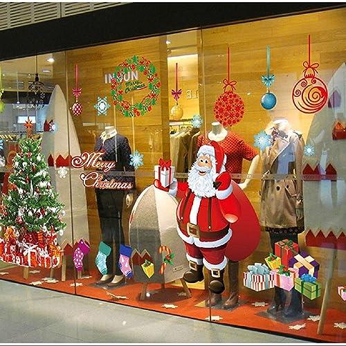 Window Christmas Decor Amazon Com