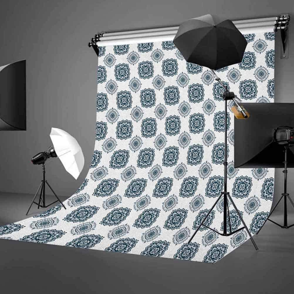 8x12 FT Winter Vinyl Photography Background Backdrops,Falling Snow Splashes Stains Watercolors Shades of Blue Abstract Christmas Inspired Background for Photo Backdrop Studio Props Photo Backdrop Wall