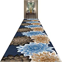 MU Tradycyjny dywan do nadruku, abstrakcyjny wzór kwiatowy, dywan z gumką, do stosowania we wnętrzach, grubość 0,6 cm, 140...