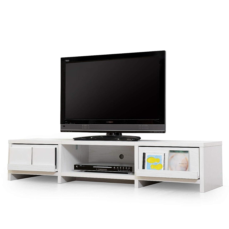 平和なほのか耕すLITENStaD テレビ台 ローボード TVボード 幅140cm × 奥行40cm × 高さ30cm ホワイトオーク LSD-06-0004-wo