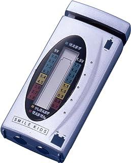 スマイルキッズ バッテリーチェッカー デジタル 電池チェッカー ADC-05