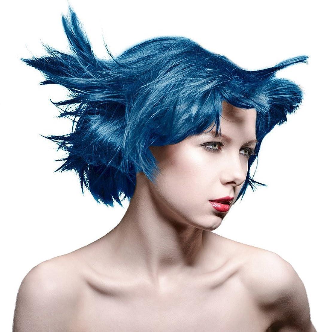 叱るミリメーター姿勢MANIC PANIC Amplified Semi-Permanent Hair Color - Voodoo Blue