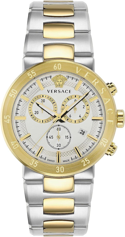 Versace VEPY00620 Urban Mystique Heren horloge 43 mm