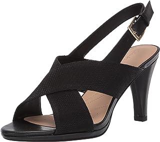 Clarks Dalia Lotus womens Heeled Sandal