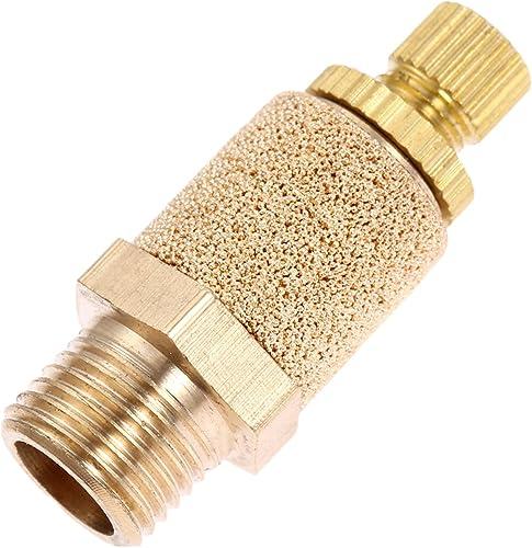 10pcs 1/8 Pneumatic Muffler Silencer Filter Air Flow Speed Controller Sintered Bronze NPT