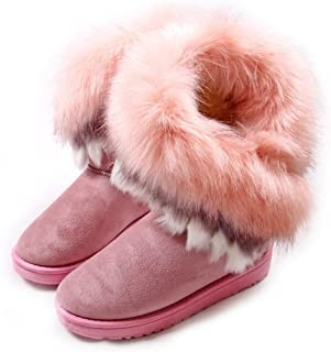 Woman Boots(Size 10 is Ok) (Warm Fur) (Tassel)