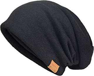 Men's Cool Cotton Beanie Slouch Skull Cap Long Baggy Hip-hop Winter Summer Hat