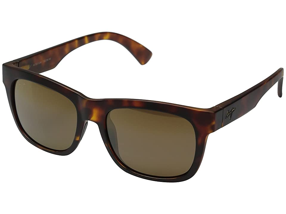 Maui Jim Snapback (Matte Tortoise) Fashion Sunglasses