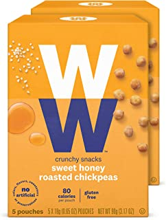 WW Honey Roasted Chickpeas - Gluten-free, 2 SmartPoints - 2 Boxes (10 Count Total) - Weight Watchers Reimagined