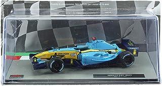 Deagostini Diecast 1:43 F1 Scale Model - Jarno Trulli F1 Renault Race Car 2004