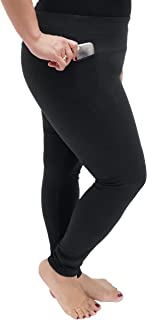 Oh So Soft High Waist Stretch Active Leggings with Pocket for Plus Size Women