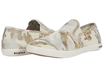 SeaVees Baja Slip-On Saltwash (Cream Camouflage) Women