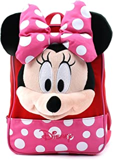 Disney Mickey Minnie Mouse Finger Backpack with Safety Harness for Toddler Children
