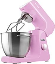 Sencor Food Processor, 4.5 Liters Steel Bowl with Handle, 1000 Watts, Pink, STM-48RS