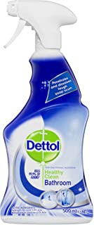 Dettol Healthy Clean Antibacterial Bathroom Shower Cleaner Trigger Cleaning Spray