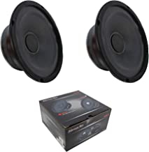 $70 » 2 x 6.5 Midrange Bullet Speaker 600W 8 Ohm Pro Car Audio American Bass SQ-6B