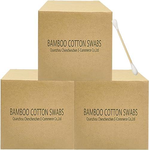 Cotton Swabs with Wooden Sticks/Biodegradable Cotton Bud 1125pcs