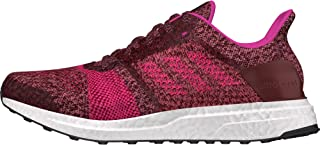 adidas Ultra Boost ST Parley Womens Running Trainer Shoe Red/Pink