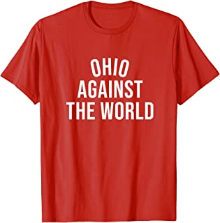 Ohio-Against-The-World Shirt - Never Counted Out - Red T-Shirt