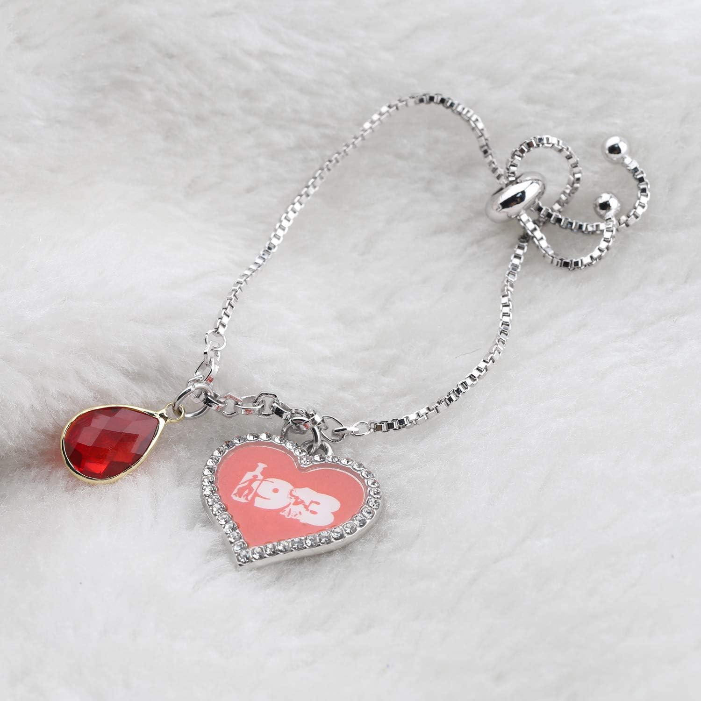 CENWA DST Jewelry Heart Charm 1913 Bracelet Jewelry Greek Sorority Gift